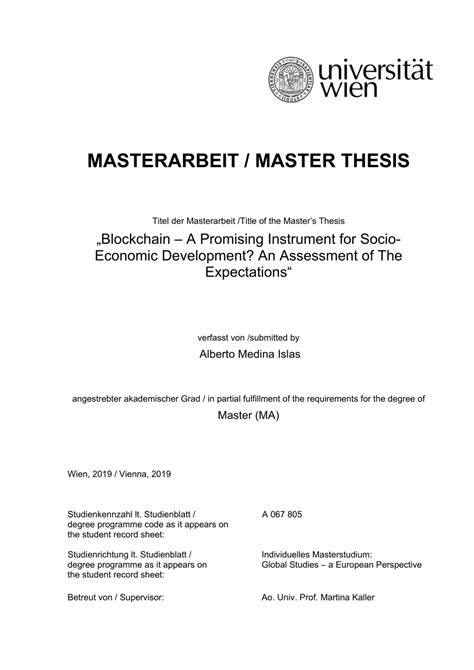Ghostwriter for Master Thesis: how do you make this decision? -